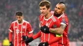 Champions League, Bayern Monaco-Besiktas 5-0: Müller e Lewandowski show