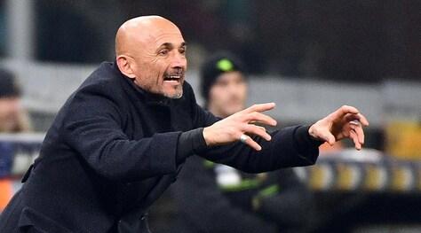 Spalletti: «Inter prima da 9, ora da 4. Totti? Non parliamone più»