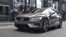 Volvo V60, il punto centrale
