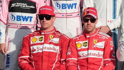 F1, tutto pronto per la presentazione Ferrari