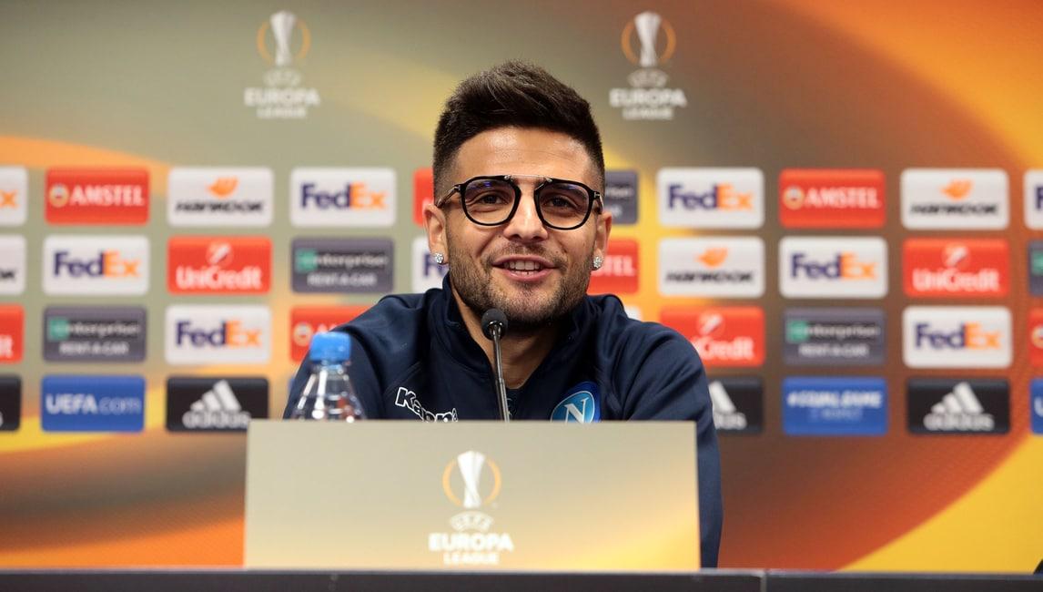 Insigne: «Dimostreremo quanto teniamo all'Europa League»