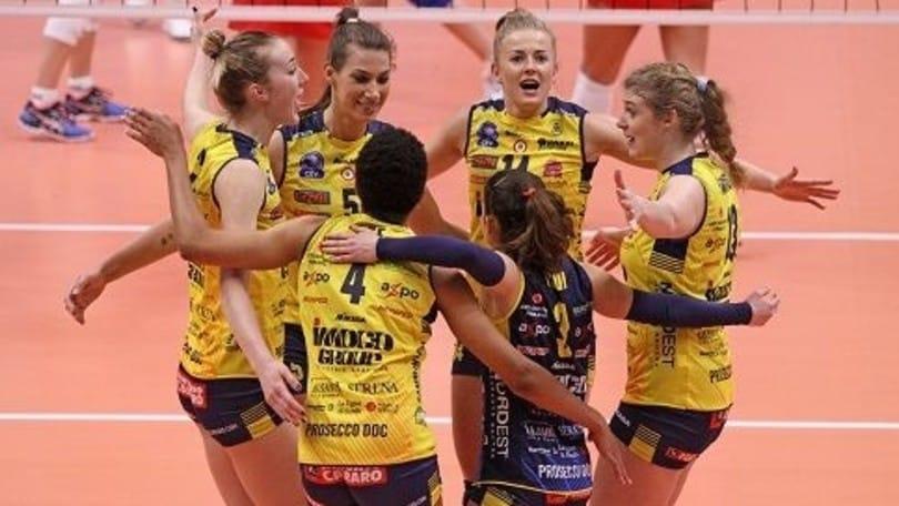 Volley: Champions League, Conegliano fa cinque in Repubblica Ceca