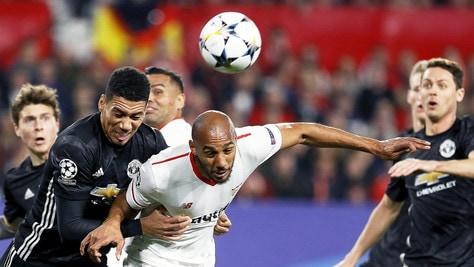 Champions League, Siviglia-Manchester United 0-0: Mou resiste a Montella
