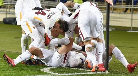 Champions League, Shakhtar-Roma 2-1: vantaggio diÜnder, poi segnano Ferreyra e Fred