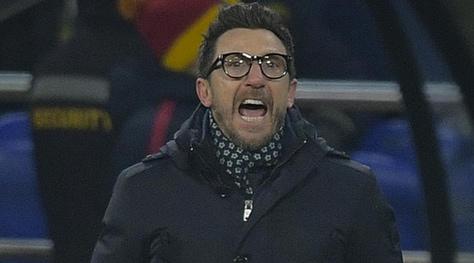 Roma. Di Francesco: «In campo ho visto due squadre: non sono soddisfatto della ripresa»