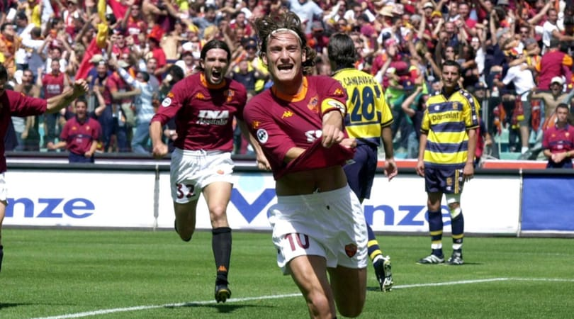 Totti: «Roma-Parma all'ultima? Magari arriva qualcosa...»