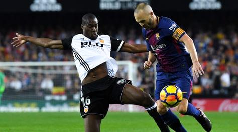 Valencia, Kondogbia: «Inter, che casino! Pagherei di tasca mia la clausola»
