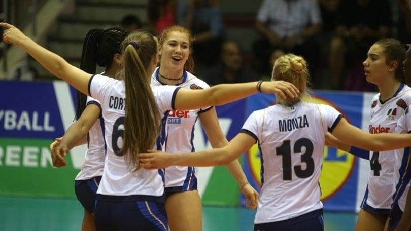 Volley: ufficializzato il calendario degli Europei Under 17 Femminili