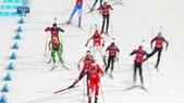 La staffetta del biathlon delude le attese