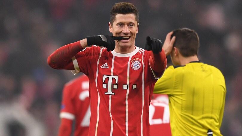 Lewandowski rompe con il procuratore, «vuole lasciare il Bayern Monaco»