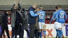 Europa League, Sarri: Napoli, hai un'anima. De Laurentiis: Fuori a testa alta