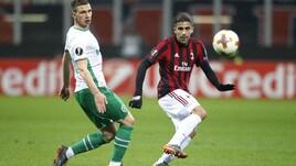 Europa League Milan-Ludogorets 1-0, il tabellino