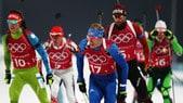 Biathlon : staffetta alla Svezia, Italia lontana