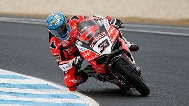 Superbike Ducati, Melandri: «Sento di arrivare a Imola nel momento giusto»