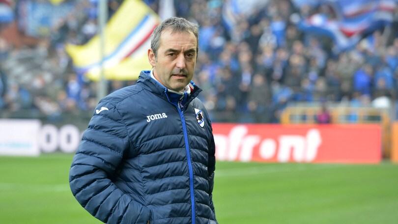 Serie A Sampdoria, Giampaolo: «Ripartiamo onorando la memoria di Astori»