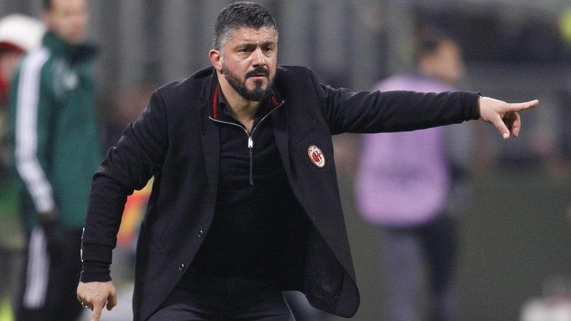 Milan, Gattuso: «Ciclo terribile? Penso solo alla Roma»