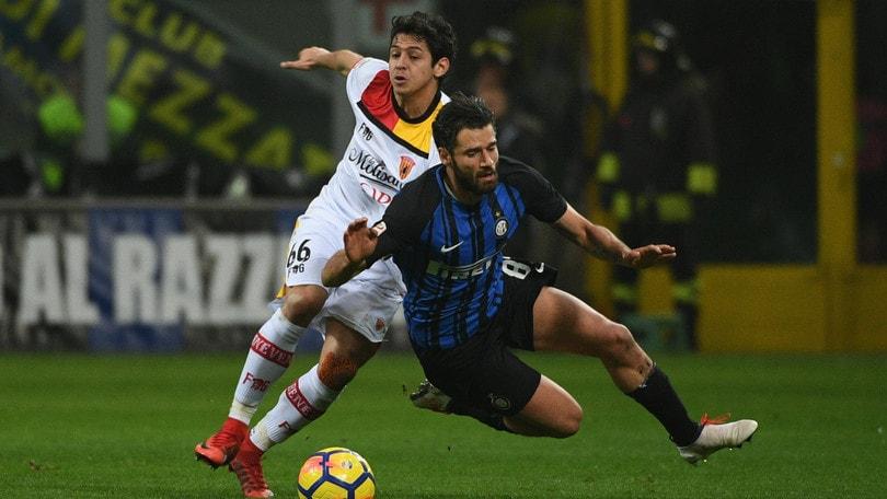 Serie A Inter-Benevento 2-0, il tabellino