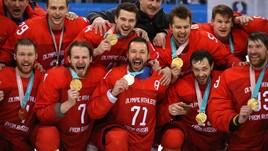 Hockey, i russi trionfano all'overtime: Germania ko