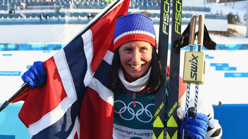 Storica Bjoergen: oro nella 30 km e record olimpico