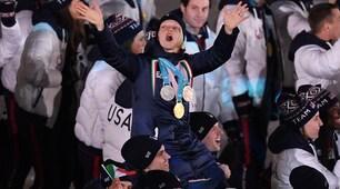 PyeongChang 2018, cala il sipario: Arianna Fontana portata in trionfo