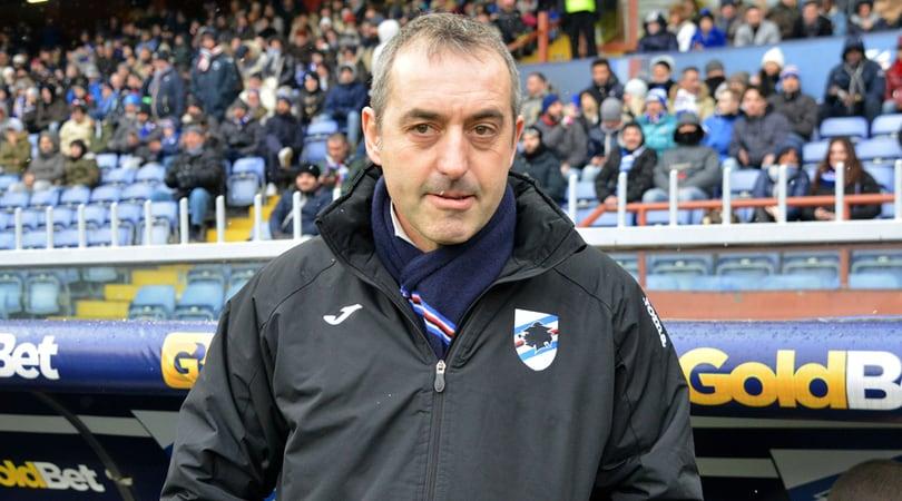 Serie A, Giampaolo: «Inter forte. La Sampdoria non può permettersi di perdere»