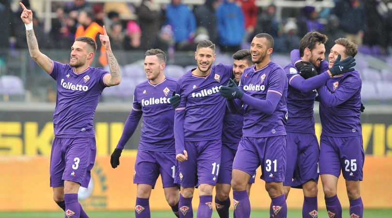 Serie A: Fiorentina-Chievo 1-0, Sampdoria-Udinese 2-1, Verona-Torino 2-1