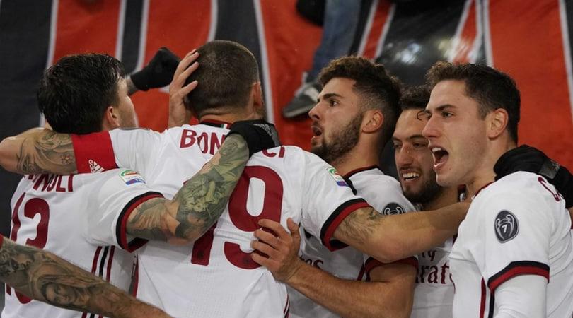 Roma-Milan 0-2: all'Olimpico decidono Cutrone e Calabria