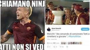 Il Milan sbanca l'Olimpico con Cutrone e Calabria, i tifosi della Roma furiosi sul web