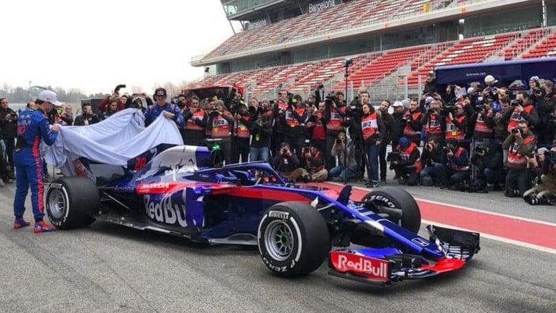 F1, Svelata la Toro Rosso prima dei test