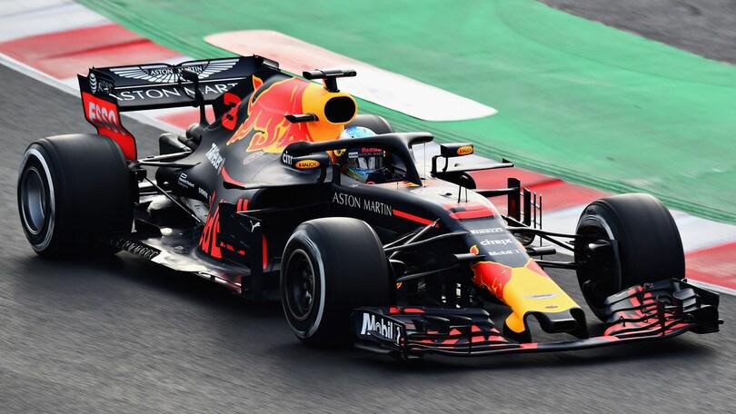 F1 Red Bull, torna la livrea classica