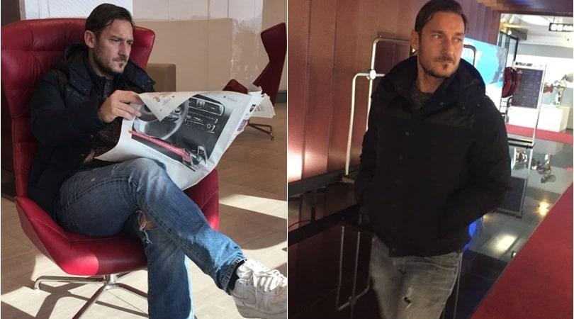 Laureus World Sports Awards, Totti atterra a Montecarlo
