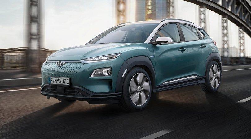 Hyundai Kona Electric, il Suv compatto elettrico è di serie