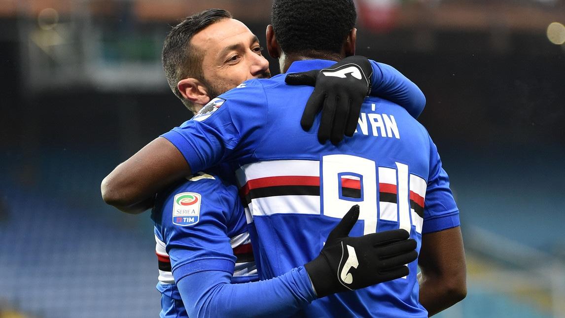 Sampdoria, gol realizzati: 46
