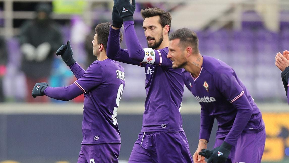 Fiorentina, gol realizzati: 35