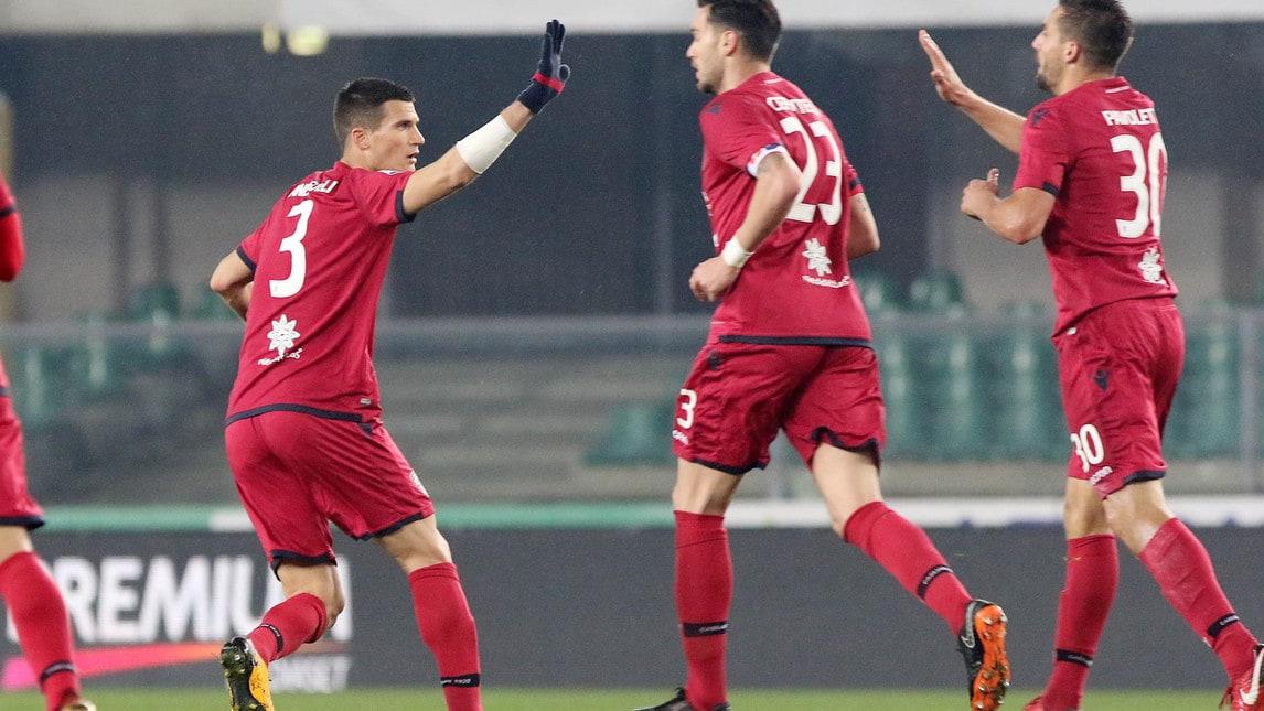 Cagliari, gol realizzati: 23