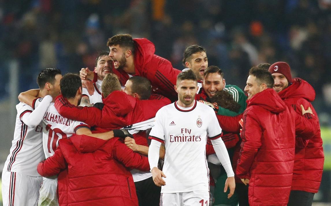 Coppa Italia, Lazio-Milan 0-0 (4-5 d.c.r.): Gattuso in finale con la Juventus