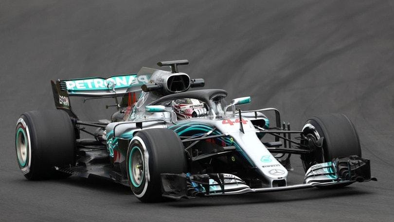 F1, test Barcellona: Hamilton spaventa tutti
