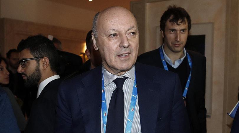 Marotta: «Il bel gioco del Napoli? Alla fine conta vincere»