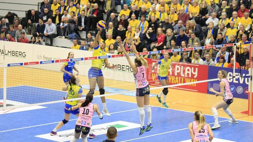 Volley: Cev Cup, Casalmaggiore lotta ma si arrende ed è fuori