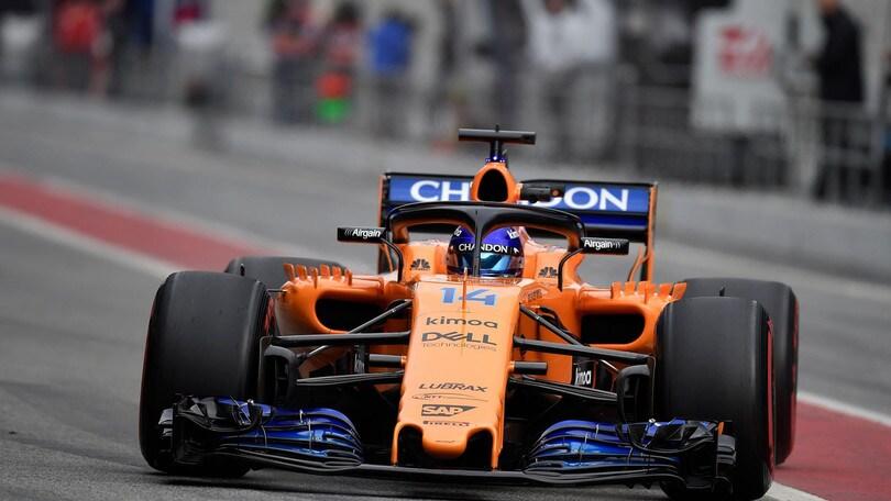 F1 McLaren, Alonso: «Gran lavoro di squadra»