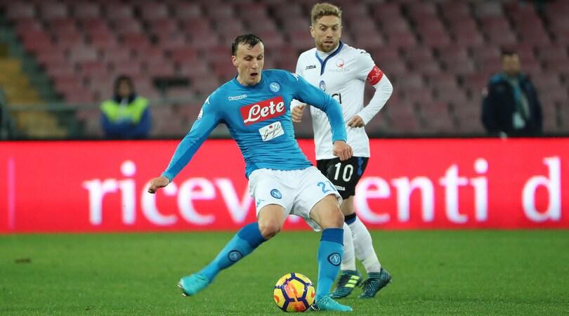Calciomercato Napoli, ufficiale: Chiriches rinnova fino al 2022