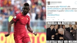 Roma, Di Francesco apre a Balotelli: ecco la reazione dei tifosi sui social