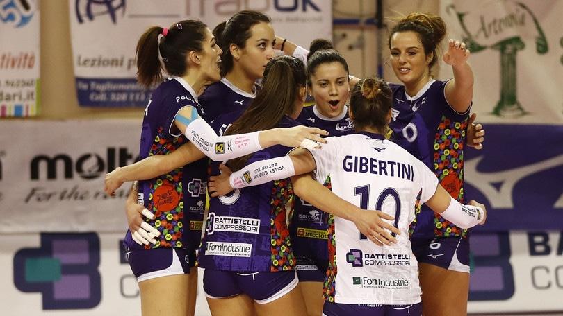 Volley: A2 Femminile, Battistelli-Mondovì scontro al vertice
