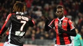 Ligue 1, Nizza-Lille 2-1: Balotelli va a... 3.000