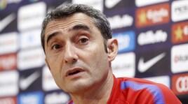 Barcellona, Valverde: «Con l'Atletico non è una finale»