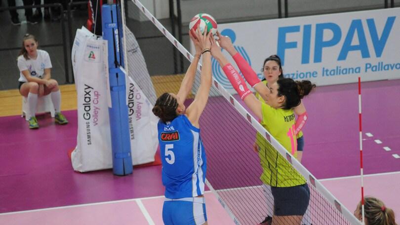 Volley: A2 Femminile, inarrestabile Club Italia: battuta Collegno