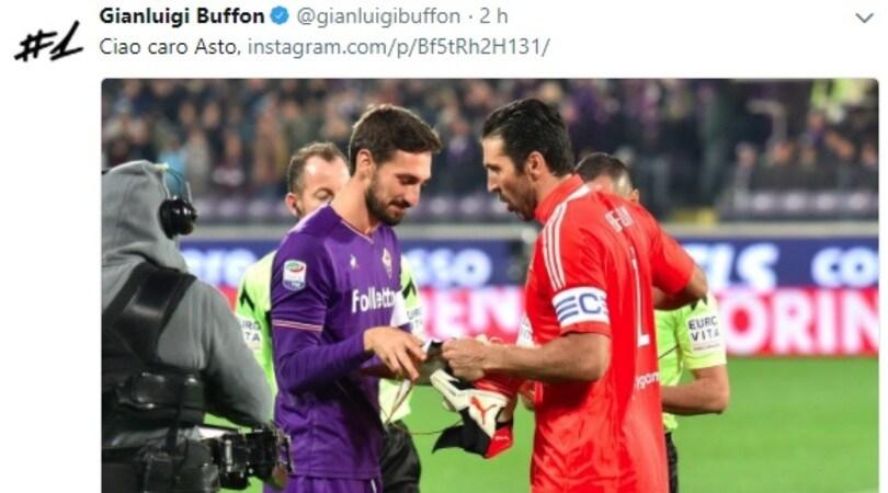 Buffon: «Ciao Asto, espressione migliore del mondo antico»
