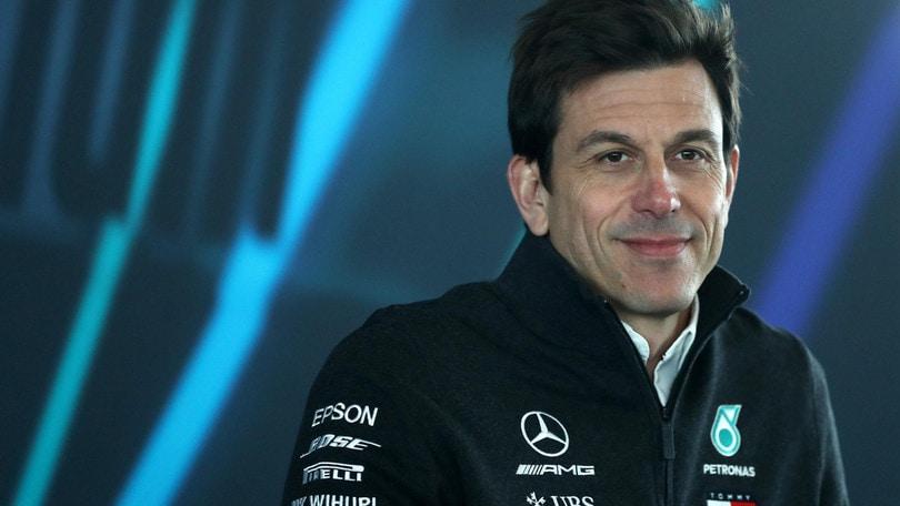 F1 Mercedes, Wolff: «La direttiva sui motori non è contro di noi»