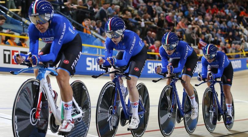 Mondiali di ciclismo su pista, l'Italia chiude con 6 medaglie