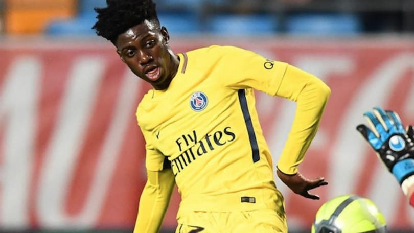 Maglia Home PSG Timothy WEAH